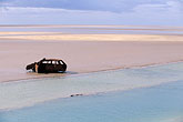 lake stock photography | Tunisia, Chott el Jerid, Abandoned car, image id 3-1100-21