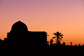 dome stock photography | Tunisia, Nefta, sunrise, image id 3-1100-27
