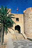 flag stock photography | Tunisia, Djerba, Djerba Fort, image id 3-1100-35