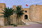 flag stock photography | Tunisia, Djerba, Djerba Fort, image id 3-1100-36