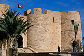 flag stock photography | Tunisia, Djerba, Djerba Fort, image id 3-1100-38