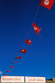 blue sky stock photography | Tunisia, Tunisian flags, image id 3-1100-47