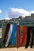 clothesline stock photography | Tunisia, Clothes drying, image id 3-1100-53