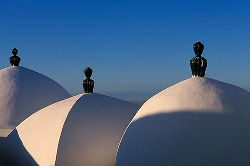 image 3-1100-59 Tunisia, Sidi Bou Said, Domed roofs