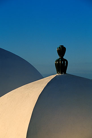 image 3-1100-6 Tunisia, Sidi Bou Said, Rooftops