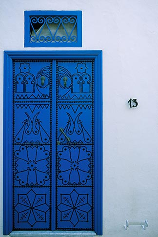 image 3-1100-64 Tunisia, Sidi Bou Said, Door