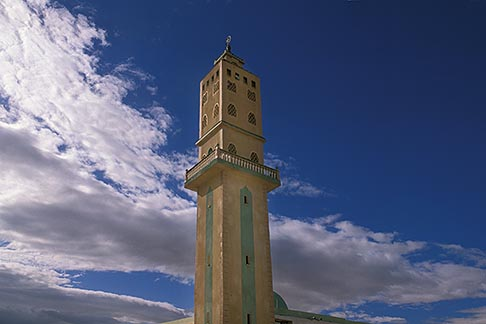 image 3-1100-99 Tunisia, Metlaoui, Minaret