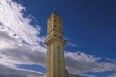 blue stock photography | Tunisia, Metlaoui, Minaret, image id 3-1100-99