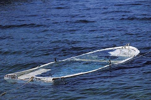 image 9-295-99 Turkey, Bodrum, Sunken Boat