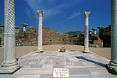ephesus stock photography | Turkey, Sel�uk, Burial site of Saint John in Basilica of Saint John, image id 9-310-32