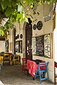 town stock photography | Uruguay, Colonia del Sacramento, Restaurant exterior, image id 8-802-4351