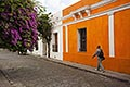 heritage stock photography | Uruguay, Colonia del Sacramento, Historic Quarter, cobbled street, image id 8-802-4430