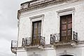 history stock photography | Uruguay, Colonia del Sacramento, Ornate balcony, Historic District, image id 8-803-4660