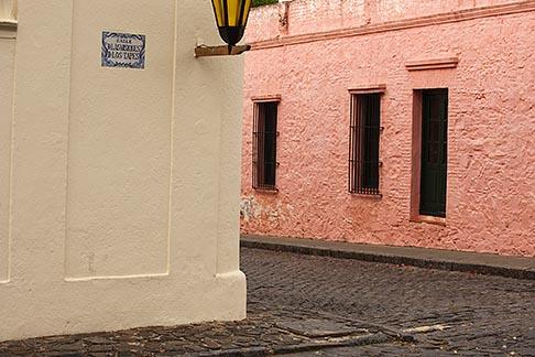 image 8-803-4907 Uruguay, Colonia del Sacramento, Street corner, Historic District