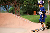 play stock photography | Recreation, Young skateboarder, image id 6-228-11