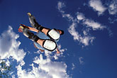 aerial jump stock photography | Recreation, Rollerblader in air, image id 6-243-7
