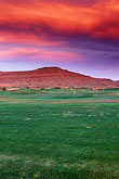 golf tourism stock photography | Utah, St. George, Entrada at Snow Canyon, sunset, image id 3-860-54
