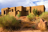 house stock photography | Utah, St. George, Entrada at Snow Canyon, house at 13th hole, image id 3-860-58