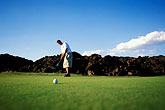 putt stock photography | Utah, St. George, Entrada at Snow Canyon Golf Course, image id 3-861-98
