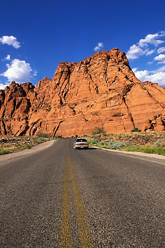 image 3-862-60 Utah, St George, Driving in the Red Hills