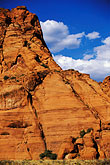 red rock hills stock photography | Utah, St. George, Snow Canyon State Park, image id 3-863-52