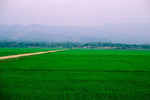 image S3-194-39 Vietnam, Dien Bien Phu, Fields
