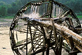 wood stock photography | Vietnam, Lai Chau, Waterwheel, image id S3-195-5