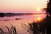 aquatic park stock photography | Zimbabwe, Zambezi National Park, Sunset, Zambezi River, image id 7-394-43