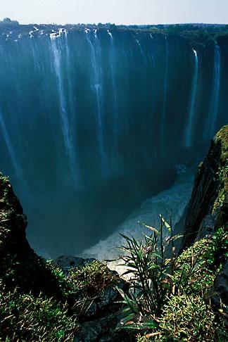image 7-396-5 Zimbabwe, Victoria Falls, Rainbow Falls