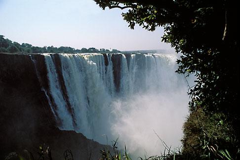 image 7-410-7 Zimbabwe, Victoria Falls, Main Falls