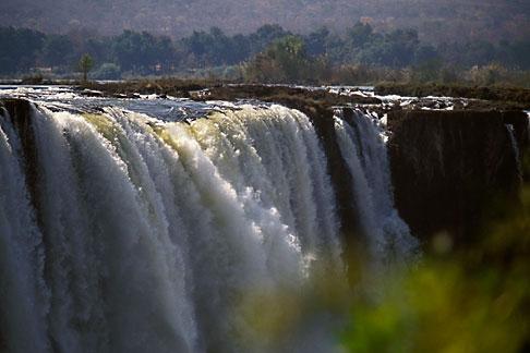 image 7-412-27 Zimbabwe, Victoria Falls, Main Falls