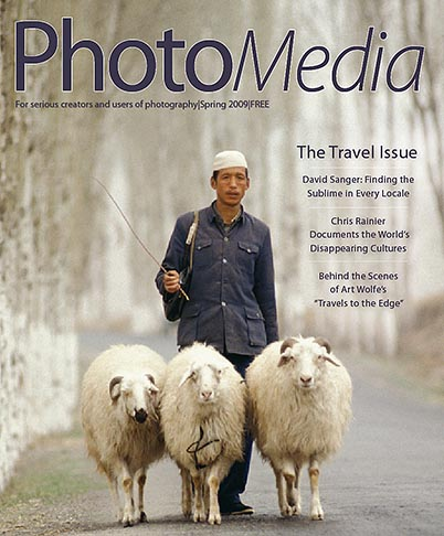 PhotoMedia magazine story on David Sanger