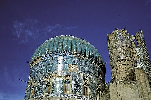 image 0-0-70 Afghanistan, 15th century mosque at Balkh