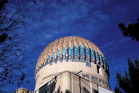 image 0-0-92 Afghanistan, Herat, Gawhar Shad Mausoleum