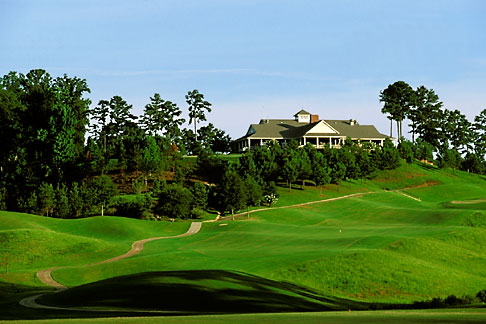 image 2-555-11 Alabama, Robert Trent Jones Golf Trail, Greenville, Cambrian Ridge, 1st hole, Sherling