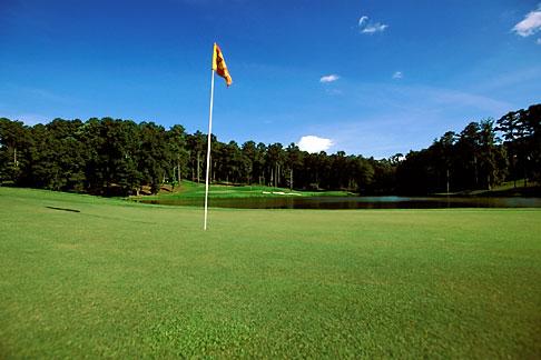 image 2-555-33 Alabama, Robert Trent Jones Golf Trail, Greenville, Cambrian Ridge, 5th hole, Sherling