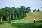 one man only stock photography | Alabama, RTJ Golf Trail, Prattville, Capitol Hill, 1st fairway, Judge, image id 2-556-92