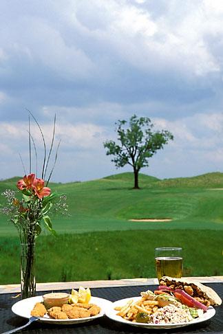 image 2-557-49 Alabama, Robert Trent Jones Golf Trail, Prattville, Capitol Hill, Catfish and fried okra