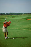 red stock photography | Alabama, RTJ Golf Trail, Prattville, Capitol Hill, 13th hole, Senator, image id 2-557-75