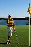 one man only stock photography | Alabama, RTJ Golf Trail, Prattville, Capitol Hill, 1st hole, Judge, image id 2-565-30