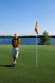 one man only stock photography | Alabama, RTJ Golf Trail, Prattville, Capitol Hill, 1st hole, Judge, image id 2-565-31