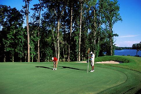 image 2-565-53 Alabama, Robert Trent Jones Golf Trail, Prattville, Capitol Hill, 18th hole, Judge