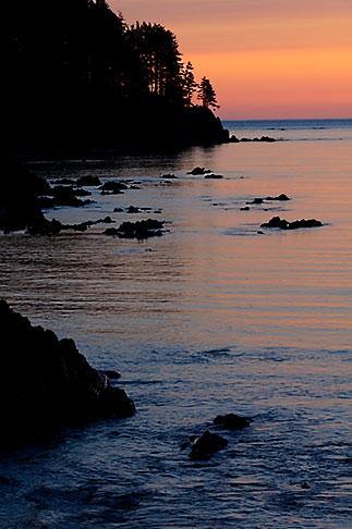 image 5-650-1055 Alaska, Kodiak, Monashka Bay sunset