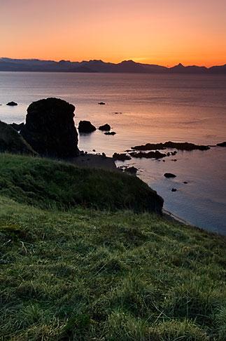 image 5-650-1443 Alaska, Kodiak, Chiniak, Coastal bluff