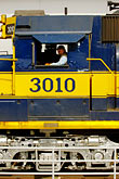yellow stock photography | Alaska, Anchorage, Alaska Railway, image id 5-650-3083