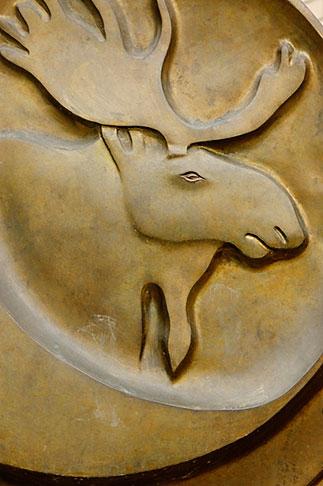 image 5-650-3275 Alaska, Anchorage, Moose emblem