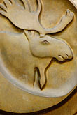 head stock photography | Alaska, Anchorage, Moose emblem, image id 5-650-3275