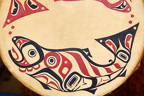image 5-650-3567 Alaska, Anchorage, Tsimshian design