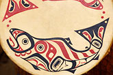 percussion stock photography | Alaska, Anchorage, Tsimshian design, image id 5-650-3567