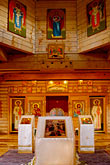 inside stock photography | Alaska, Kodiak, Holy Resurrection Russian Orthodox Church, image id 5-650-3758